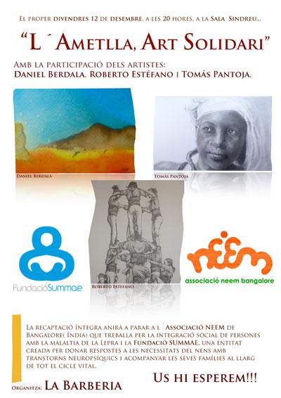 L'Ametlla, Art solidari